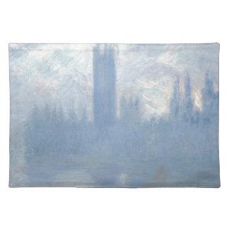 Claude Monet - Houses of Parliament London Art Placemat