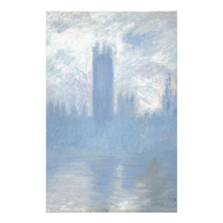 Claude Monet - Houses of Parliament London Art Stationery