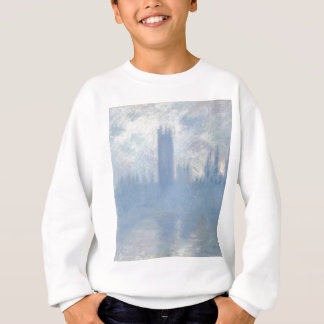 Claude Monet - Houses of Parliament London Art Sweatshirt
