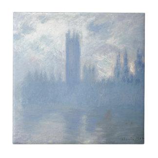 Claude Monet - Houses of Parliament London Art Tile
