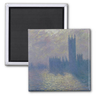 Claude Monet | Houses of Parliament, Stormy Sky Magnet