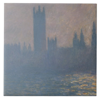 Claude Monet - Houses of Parliament, Sunlight Tile