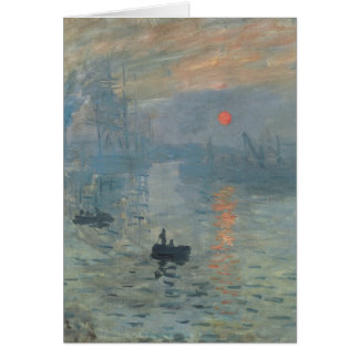 Claude Monet, Impression, soleil levant Card