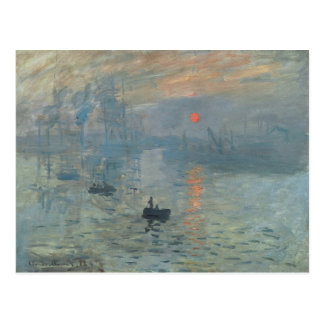 Claude Monet, Impression, soleil levant Postcard