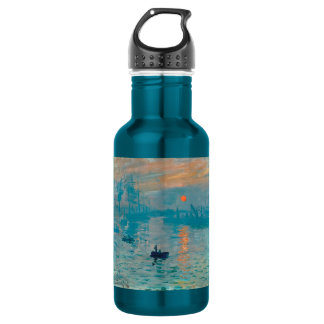 CLAUDE MONET - Impression, sunrise 1872 532 Ml Water Bottle