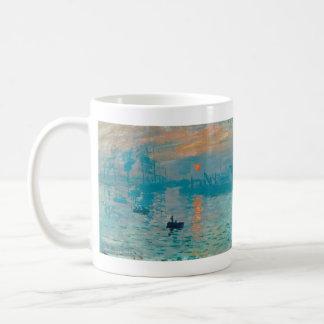 CLAUDE MONET - Impression, sunrise 1872 Coffee Mug