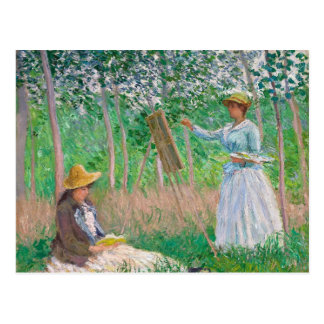 Claude Monet - In the Woods at Giverny Postcard