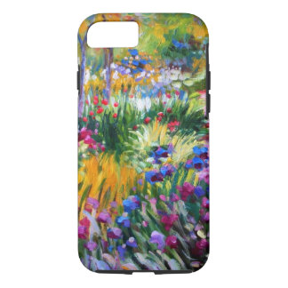 Claude Monet: Iris Garden by Giverny iPhone 8/7 Case