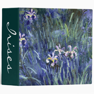 Claude Monet: Irises Binder