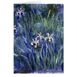 Claude Monet: Irises Card