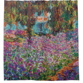 Claude Monet - Irises in Monet's Garden Fine Art