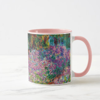 Claude Monet - Irises in Monet's Garden Fine Art Mug