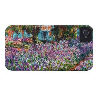 Claude Monet: Irises in Monet's Garden iPhone 4 Case-Mate Cases