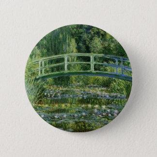 Claude Monet - Japanese Bridge 2 Inch Round Button