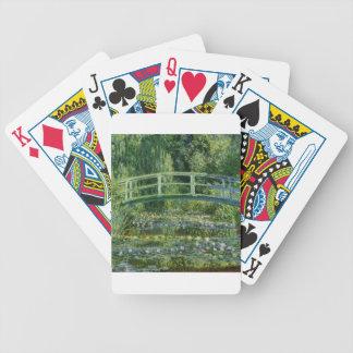 Claude Monet - Japanese Bridge Bicycle Playing Cards