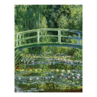 Claude Monet - Japanese Bridge Letterhead