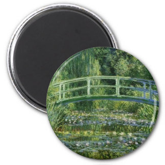 Claude Monet - Japanese Bridge Magnet