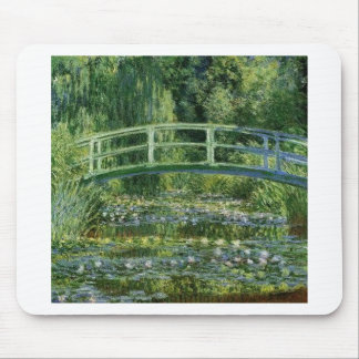 Claude Monet - Japanese Bridge Mouse Pad