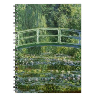 Claude Monet - Japanese Bridge Notebook