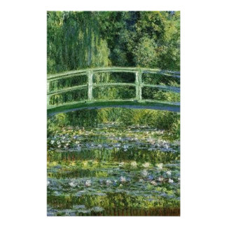 Claude Monet - Japanese Bridge Stationery