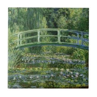 Claude Monet - Japanese Bridge Tile