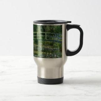 Claude Monet - Japanese Bridge Travel Mug