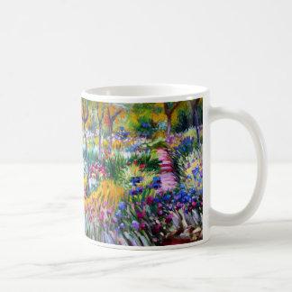 Claude Monet : Jardin d'iris par Giverny Mug