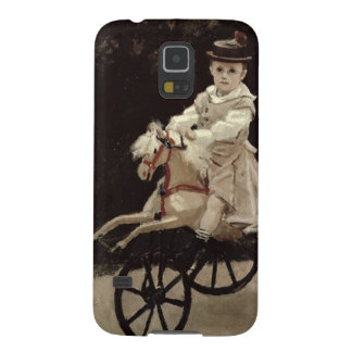 Claude Monet | Jean Monet on his Hobby Horse, 1872 Galaxy S5 Cover