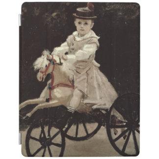 Claude Monet | Jean Monet on his Hobby Horse, 1872 iPad Cover