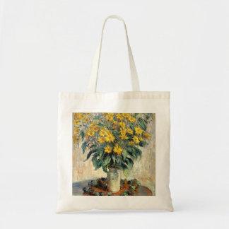 Claude Monet Jerusalem Artichoke Flowers 1880
