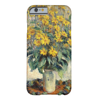 Claude Monet Jerusalem Artichoke Flowers 1880 Barely There iPhone 6 Case