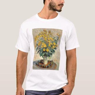 Claude Monet Jerusalem Artichoke Flowers 1880 T-Shirt