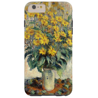 Claude Monet Jerusalem Artichoke Flowers 1880 Tough iPhone 6 Plus Case