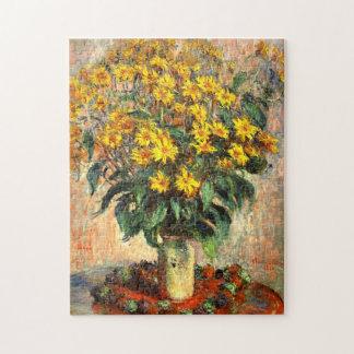 Claude Monet: Jerusalem Artichokes Jigsaw Puzzle