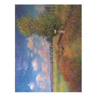 Claude Monet L'?t?. Champ de coquelicots (Klatschm Post Cards