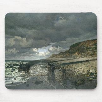 Claude Monet - La Pointe de la Hève at Low Tide Mouse Pad