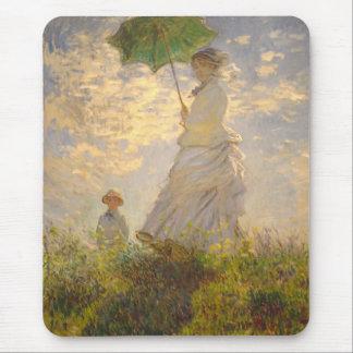 Claude Monet // La Promenade // Umbrella Mouse Pad