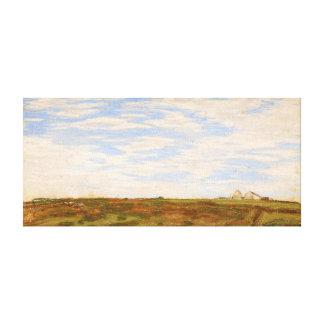 Claude Monet Landscape Canvas Print