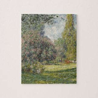 Claude Monet Landscape Jigsaw Puzzle