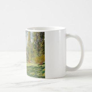 Claude Monet - Landscape: The Parc Monceau Coffee Mug