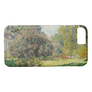 Claude Monet - Landscape: The Parc Monceau iPhone 8/7 Case