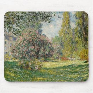 Claude Monet - Landscape: The Parc Monceau Mouse Pad
