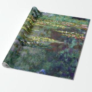 Claude Monet Le Bassin des Nympheas Wrapping Paper
