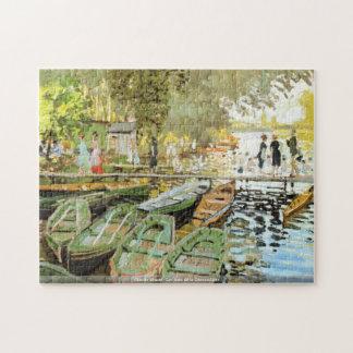 Claude Monet - Les bain de la Grenouillere puzzle