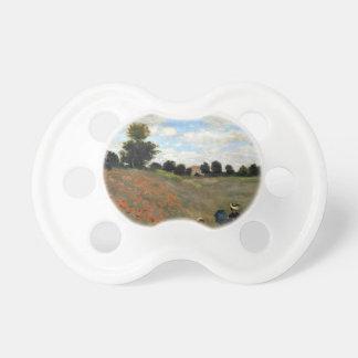 Claude Monet - Les Coquelicots Baby Pacifier
