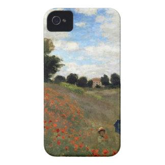 Claude Monet - Les Coquelicots Case-Mate iPhone 4 Case
