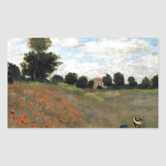 Claude Monet - Les Coquelicots Sticker