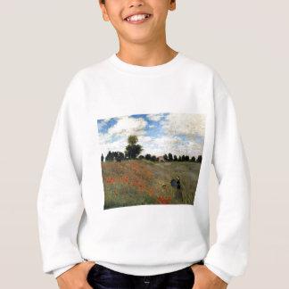 Claude Monet - Les Coquelicots Sweatshirt