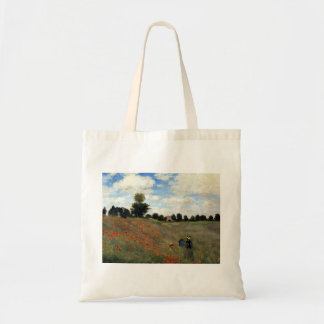 Claude Monet - Les Coquelicots Tote Bag