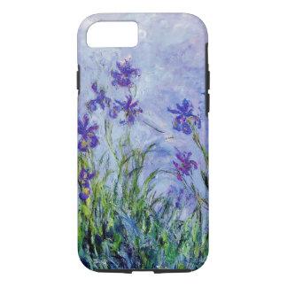 Claude Monet Lilac Irises Vintage Floral Blue Case-Mate iPhone Case